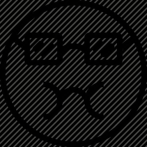 avatar, bursting, dork, face, sick, smiley icon