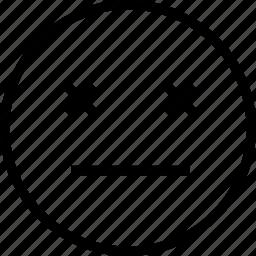 avatar, dead, eyes, face, smiley icon