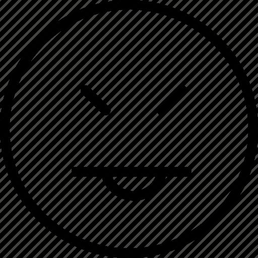 avatar, face, plain, smiley, tongue icon