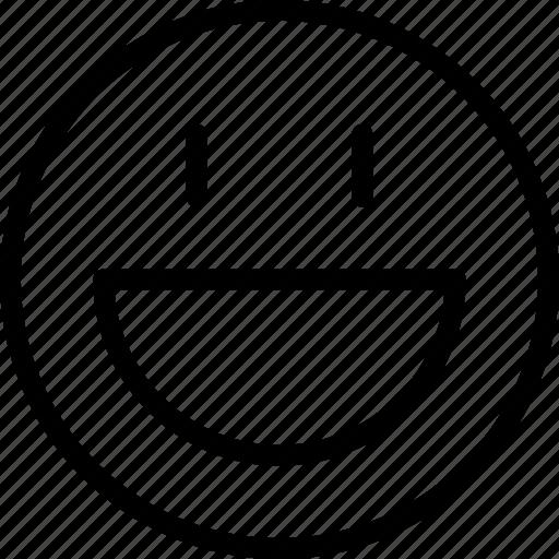 avatar, face, happy, plain, smiley, very icon