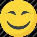 big grin, emoticon, happy face, laughing, smiley face icon
