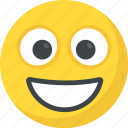 big grin, emoticon, happy face, laughing, smiley face