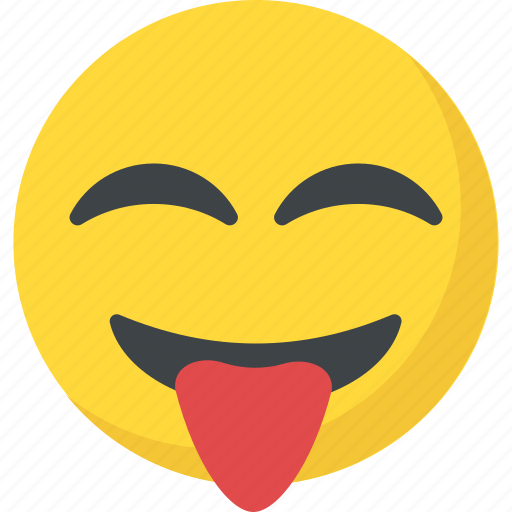 crazy face, emoji, naughty, smiley, stuck out tongue icon