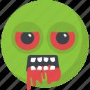 devil, dracula, evil, halloween emoji, monster emoji icon