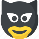 bandit emoticon, emoji, robbery, smiley, thief