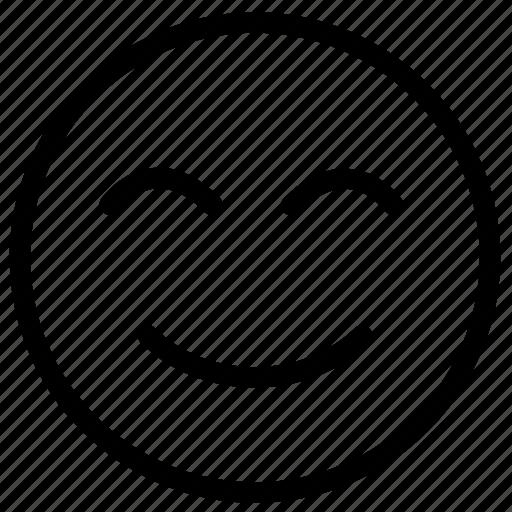 emoji, emotion, happy, smiley, smiley face icon