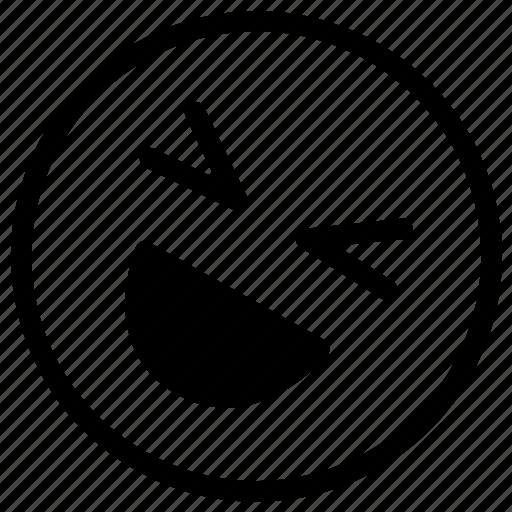 emoji, happiness, laugh, laughing, lol icon