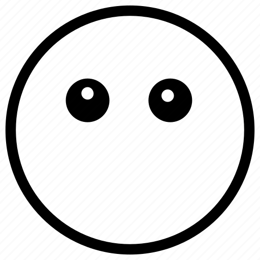 face, scared, shocked, smiley, worried icon