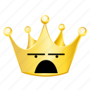 crown, emoji, wonder icon