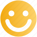 cheerful, emoji, emoticon, face, happy, smile, smiley