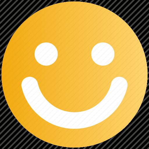 cheerful, emoji, emoticon, face, happy, smile, smiley icon