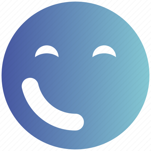 Emoticons, expression, fancy, happy smiley, smiley, wink, winking smiley icon - Download on Iconfinder