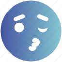 emoji, expression, eyes, face, happy, kissing, love