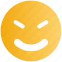 emoticons, emotion, expression, face smiley, smiley, smiling, twinkling icon