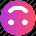 emoji, emoticon, face, happy, smile, smiley face, upside icon