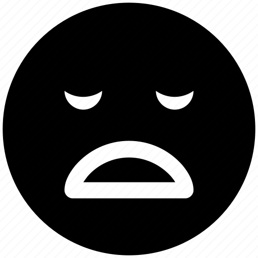 emoticon, emoticons, emotion, sad face, sadness, smile icon