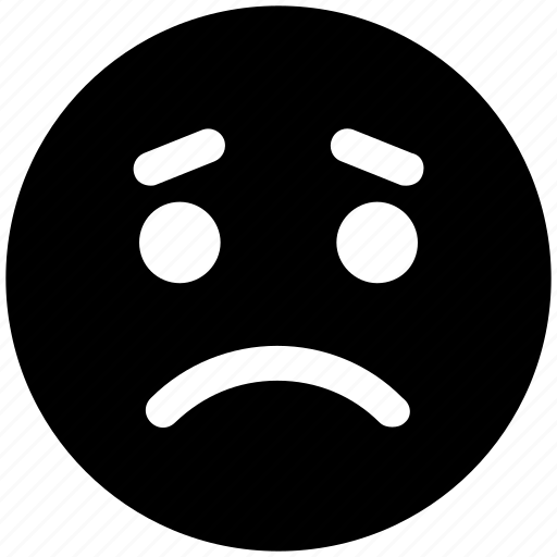 bemused face, emoticons, emotion, emotional, expression, sad, sad face, smiley, weeping icon