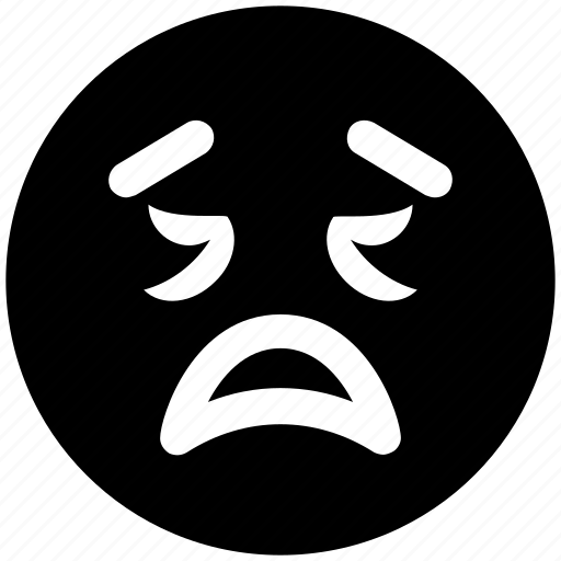 emoticons, emotion, expression, face smiley, lour, sad, smiley, worried icon