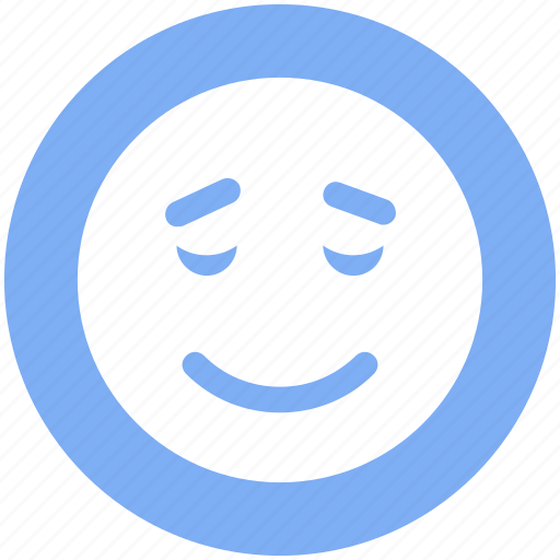 emoticons, emotion, expression, face smiley, sad, smiley, worried icon