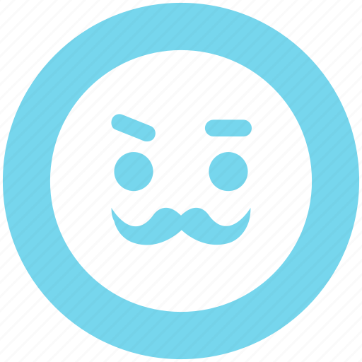 emoji, emoticons, face, man, old, smiley icon