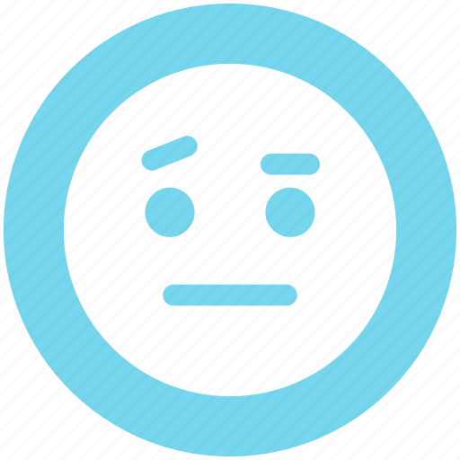 angry, emoticons, emotion, face smiley, sad, smiley, speechless icon