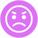 bemused face, emoticons, emotion, sad, sad face, smiley, weeping icon