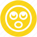 board eyes, emoji, emoticons, expression, face, shocked, smiley icon