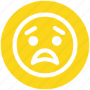 bemused face, emoticons, eyebrows, furrow, smiley, upset