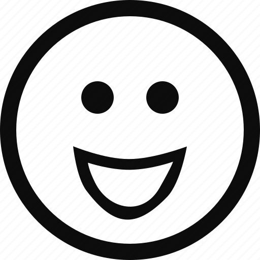 emoji, emoticon, face, happy, smile icon