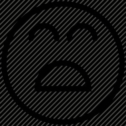 baffled emoticon, emoticons, emotion, expression, face smiley, laugh, smiley icon