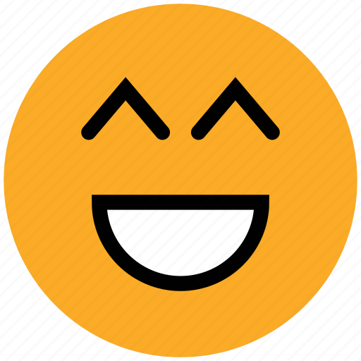 big grin, emoticons, emotion, expression, face smiley, laugh, smiley icon