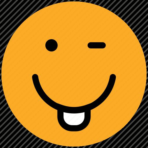 cheeky, emoticons, emotion, expression, face smiley, nodding, smiley, yawn icon