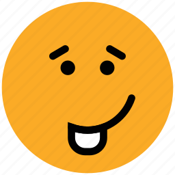 cheeky, emoticons, emotion, expression, face smiley, laugh, smiley, tongue icon