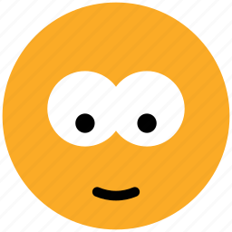 baffled emoticon, emoticons, emotion, expression, face smiley, smiley, stare emoticon icon