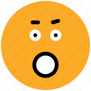 bemused face, emoticons, emotion, expression, face smiley, smiley, stare emoticon, yawn icon