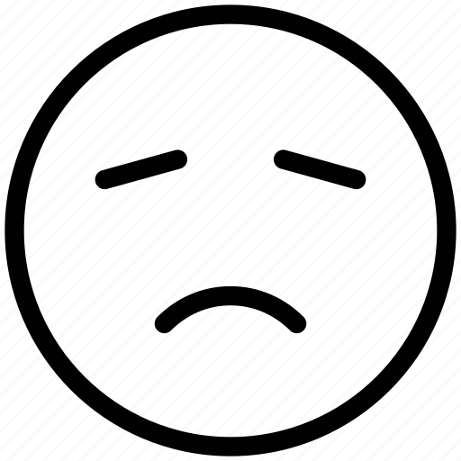 bemused face, emoticons, emotion, expression, face smiley, nodding, smiley icon