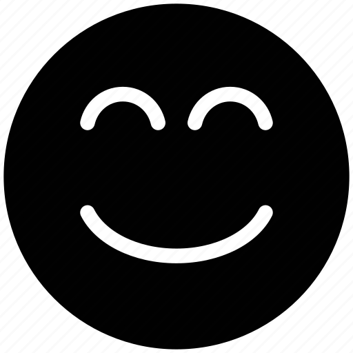 emoticon, emoticons, emotion, face, happy, nodding, smile, smiley icon