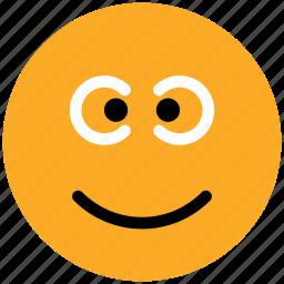 emoticons, emotion, expression, face smiley, gaze emoticon, smiley, stare emoticon icon