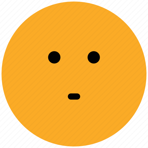 emoticons, emotion, expression, face smiley, smiley, stare emoticon icon