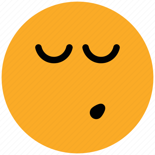 emotion, expression, face, night, sleeping, smiley, wink icon