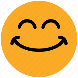 emoticons, emotion, expression, face smiley, laughing, smiley, smiling icon