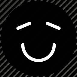 angel, emoticon, face, happy, loved, smile, smiley icon