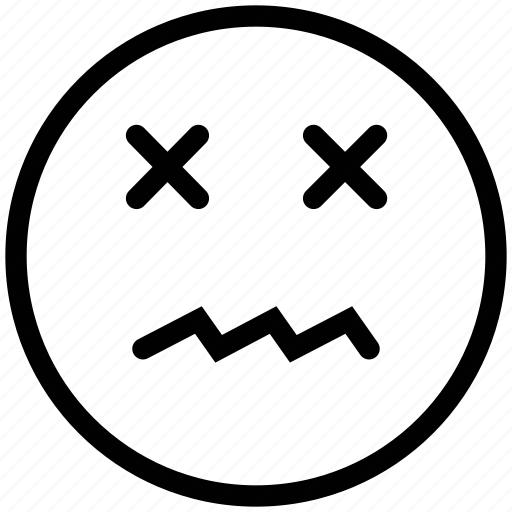 bad, bored, emoticon, emoticons, emotion, error, expression, face, sad, smile icon