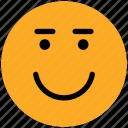 emoticon, emotion, expression, face, happy, laugh, smile, smiley icon