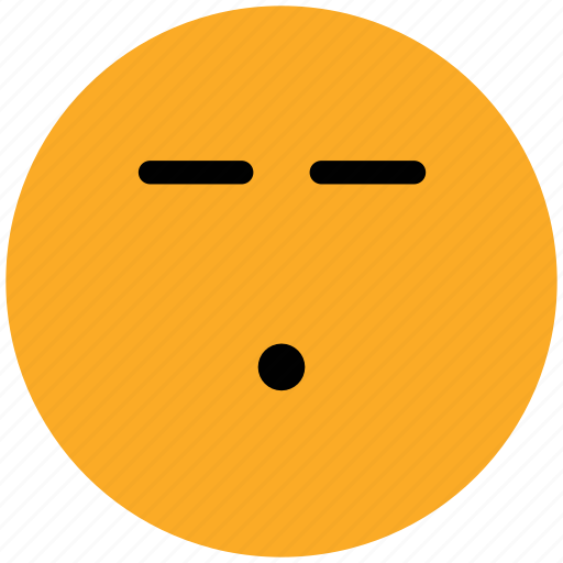 bored, emoticons, emotion, expression, face smiley, sad, smiley, speechless icon