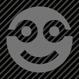 emoji, glasses, smile icon