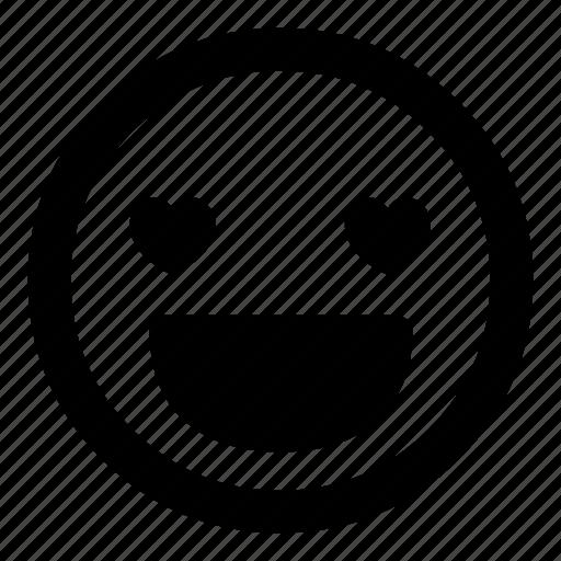 :d, attraction, emoticon, emoticons, happy, love, smiley icon
