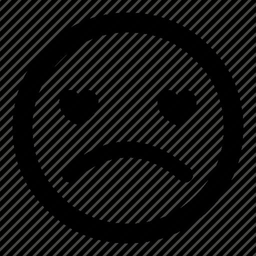 :(, brokenhearted, emoticon, emoticons, sad, smiley, unhappy icon