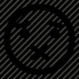 :x, emoticon, quiet, secret, silenced, smiley icon