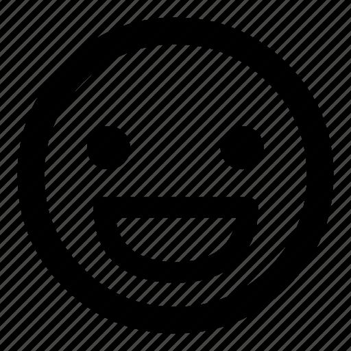 :d, emoticion, emoticons, happy, joy, laugh, smiley icon